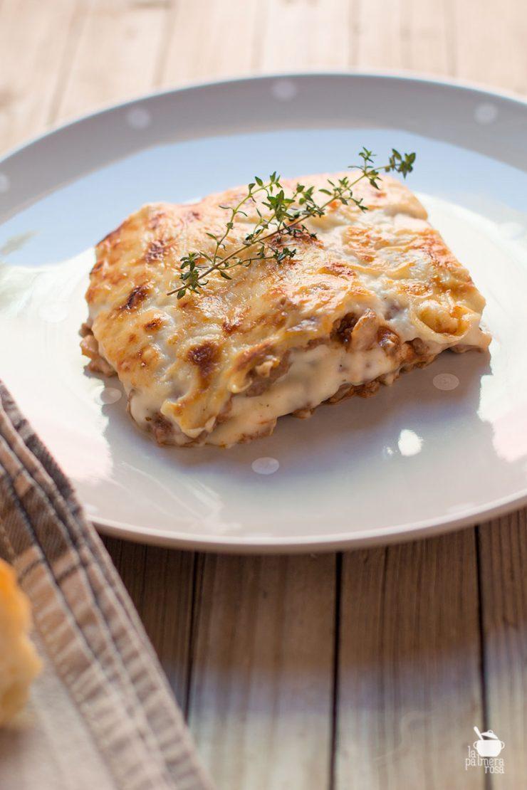 lasagna de carne