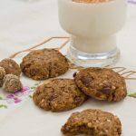 cookies de higos y almendras con pepitas de chocolate