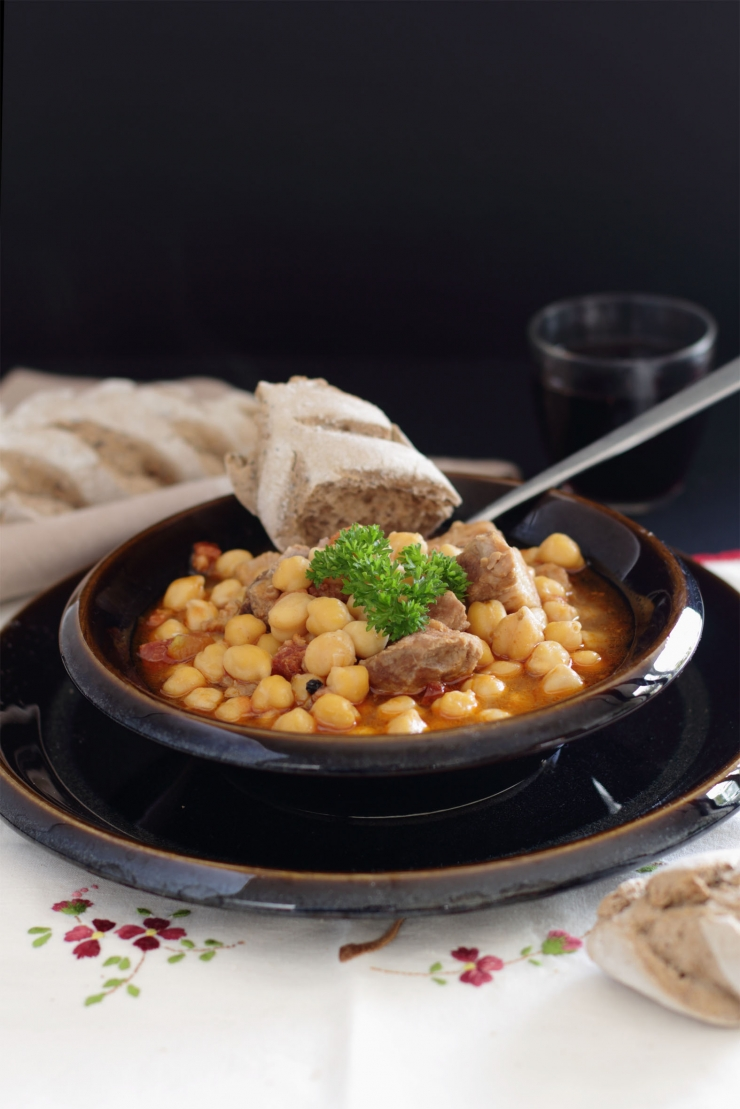 receta de garbanzas canarias