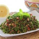Tabulé (auténtica ensalada libanesa)