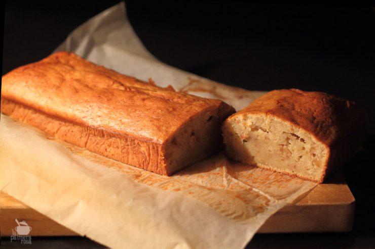 plum-cake de platano y nueces