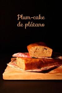 plum-cake de platano