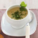Crema de bubango con cilantro fresco, ligera y reconfortante