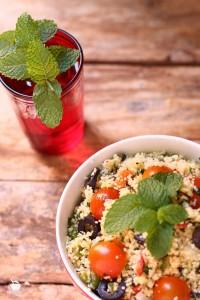 ensalada de cuscus tabule
