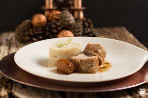 solomillo de cerdo con salsa de higos