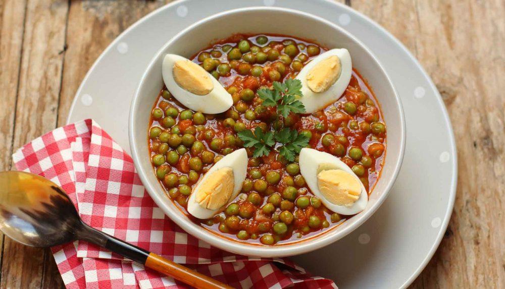 arvejas compuestas, cocina canaria