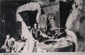 Antiguo molino de gofio en Gran Canaria