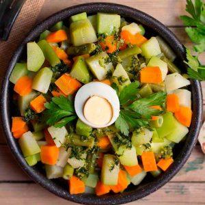 verduras rehogadas