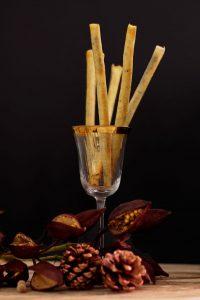 palitos crujientes de morcilla dulce canaria
