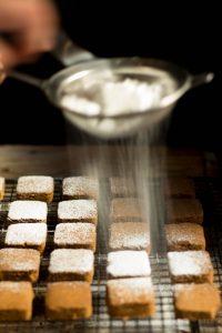 polvorones de gofio mezcla de trigo y millo