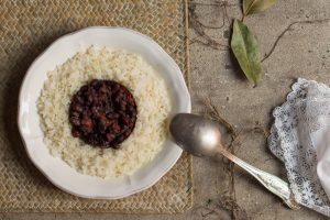 frijoles con arroz