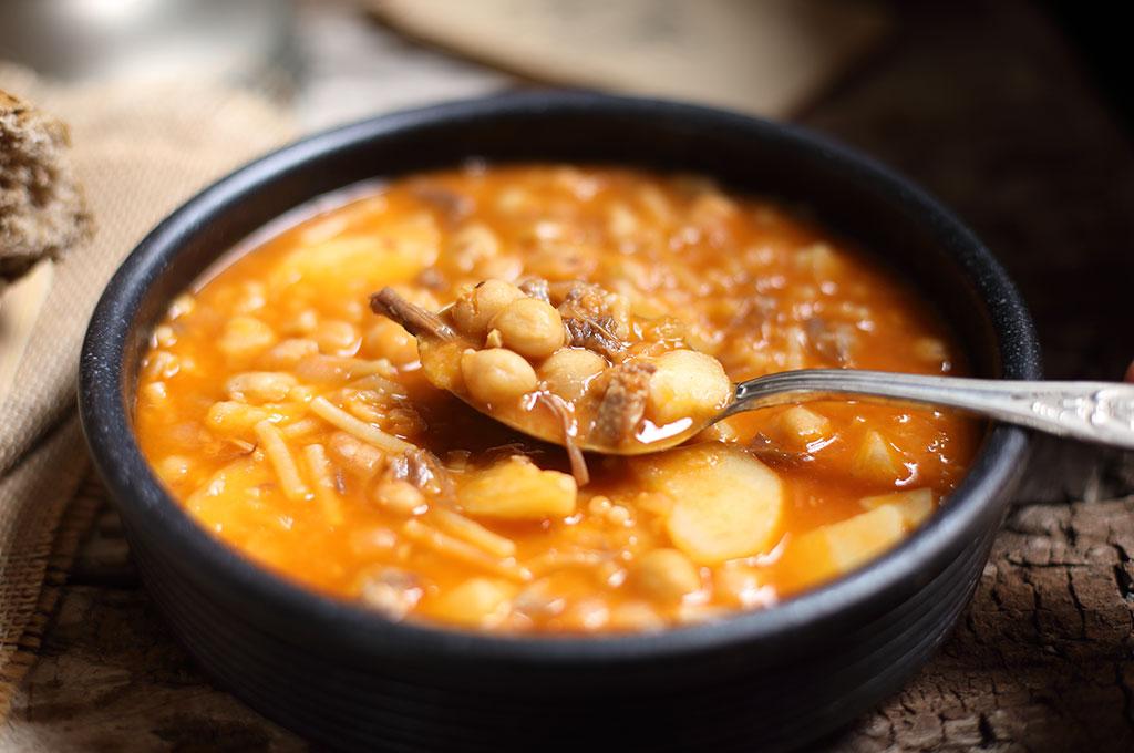 rancho canario, cocina tradicional canaria