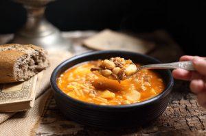 rancho-canario, cocina tipica canaria