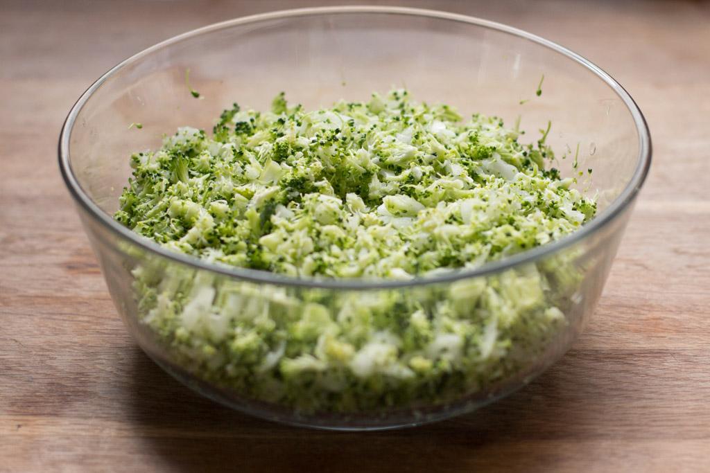 preparación albóndigas de brócoli