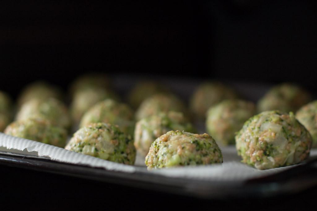 Cómo hacer albóndigas de brócoli
