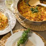 Arroz con bacalao, otra receta de arroz rico y fácil