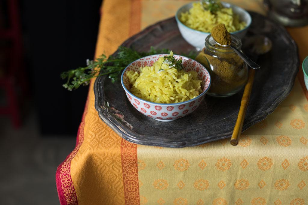 Cómo hacer arroz al curry