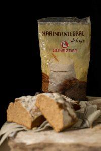 pan con harina integral de trigo Comeztier