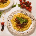 Pasta con pesto de tomates secos, un pesto diferente y muy sabroso