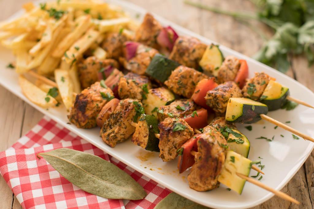 carne fiesta, carne adobada al estilo canario
