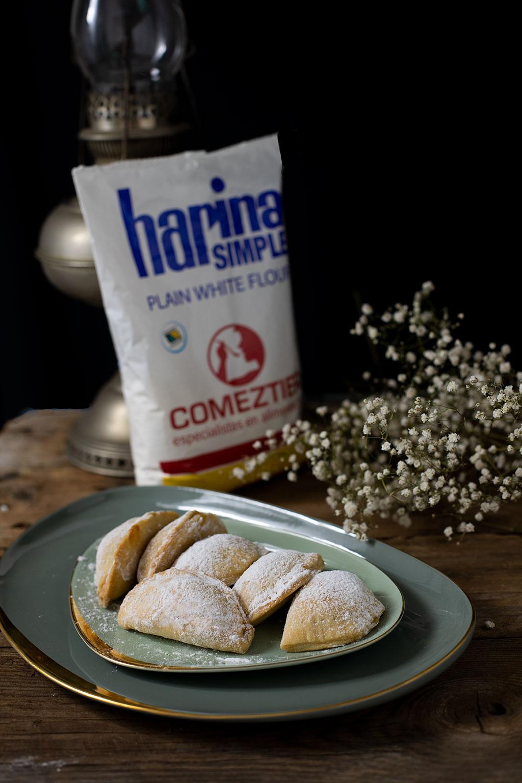 truchas con harina de trigo comeztier
