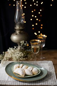 truchas de batata, postre navideño