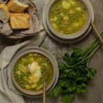 Potaje de arvejas, rico y reconfortante, receta típica canaria