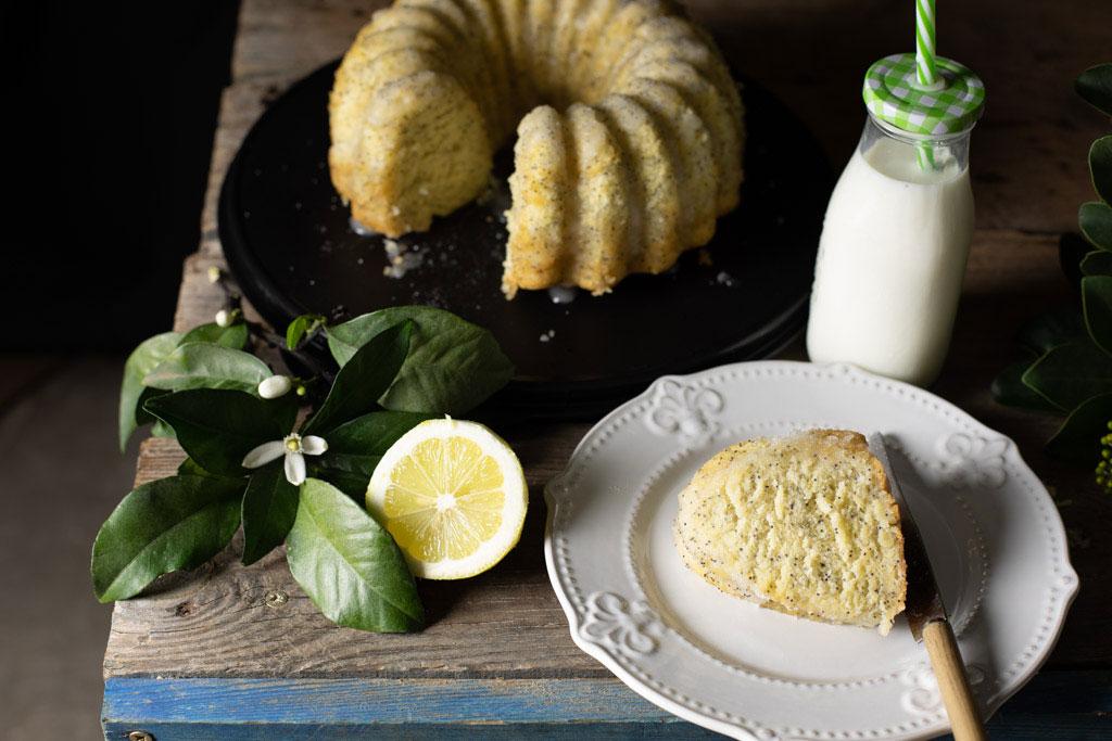 bizcochón de limón con semillas de amapola