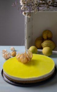 tarta de limón y gelatina fácil