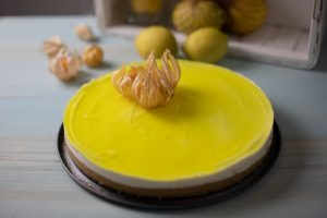 tarta de limón y gelatina
