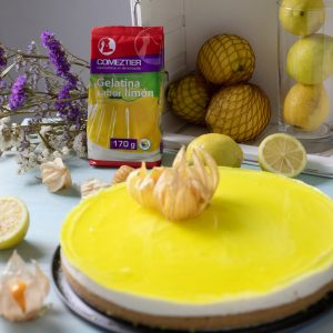 tarta de limon y gelatina comeztier