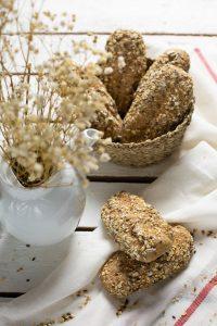 pulguitas integrales con semillas